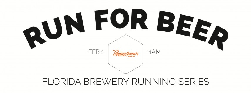 Beer Run - Tripping Animals Brewing | Part of the 2019-2020 Florida Brewery Running Series