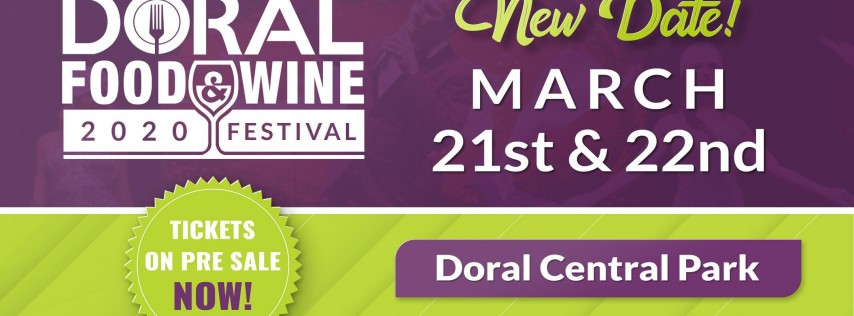 Doral Food and Wine Festival 2020