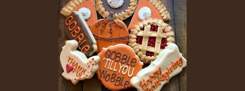 Cookie Decorating - Thanksgiving Cookie sets