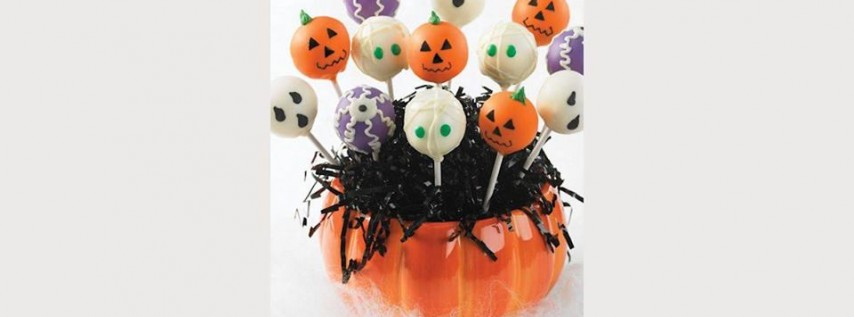 Cake Pops - Pumpkins, Mummies and Ghosts oh my!