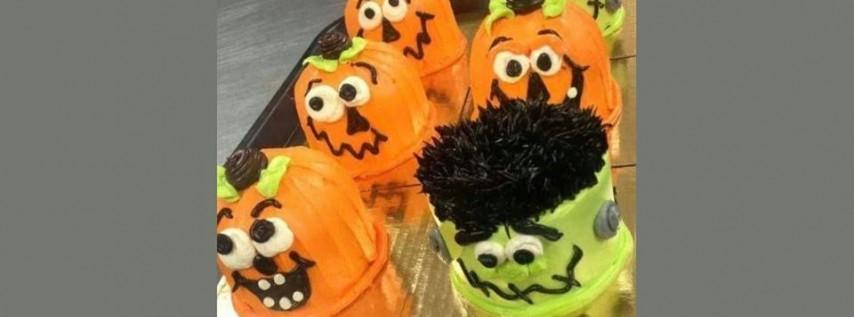Homeschool special- Halloween mini cakes