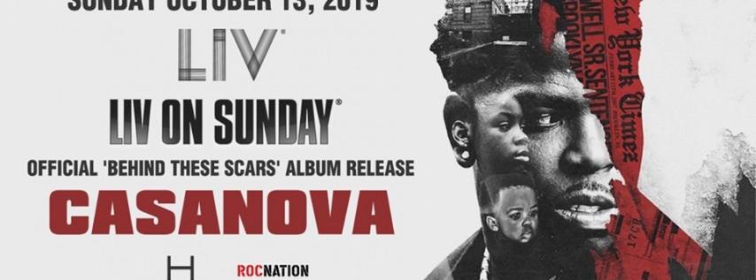 Casanova LIV On Sunday - Sun. October 13th