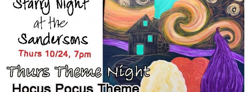Thurs Theme Night-Hocus Pocus