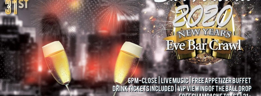 San Antonio NYE Bar Crawl