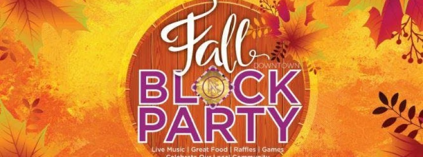 Fall Downtown Block Party 2019