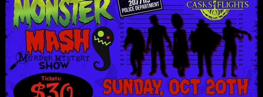 Halloween Murder Mystery: Monster Mash (Casks & Flights)