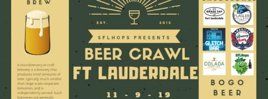 Fort Lauderdale Beer Crawl