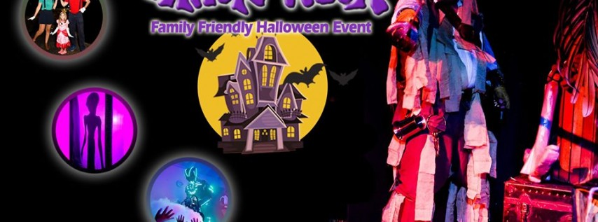 Shriek Week Family Friendly Halloween Event