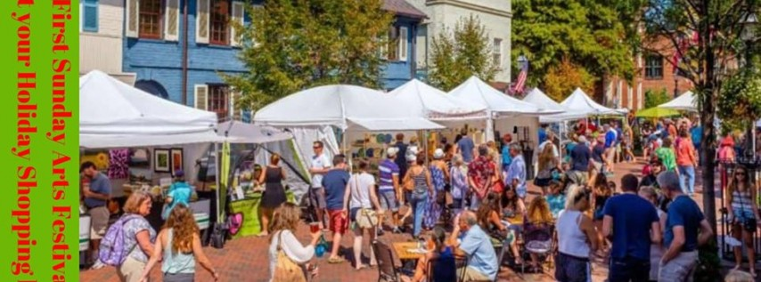 First Sunday Arts Festival- Holiday Edition