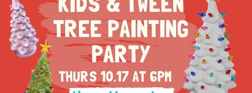 Kids & Tween Tree Party