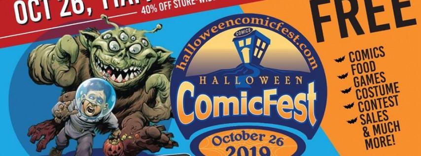 CC Halloween ComicFest 10/26 - Free Comics, Games, Sales & more!