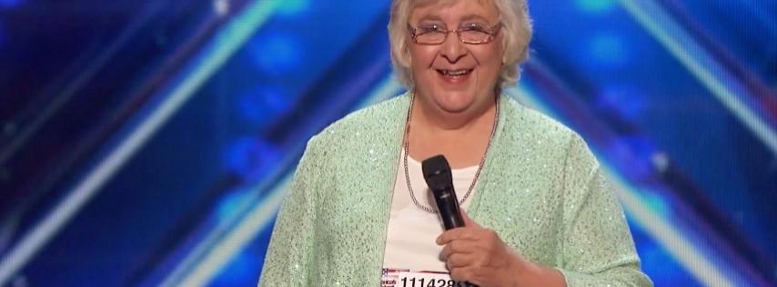 America's Got Talent's Comedian Julia Scotti