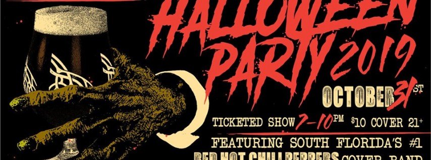 Halloween Party with Red Hot Chili Peppers Tribute Show