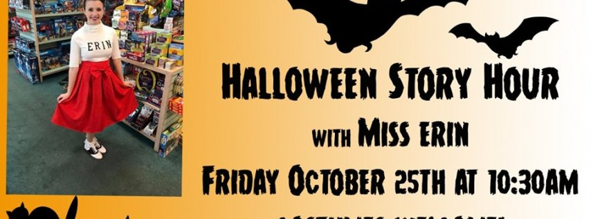 Halloween Story Hour with Miss Erin