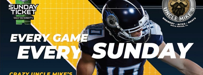 NFL Sunday Ticket Brunch