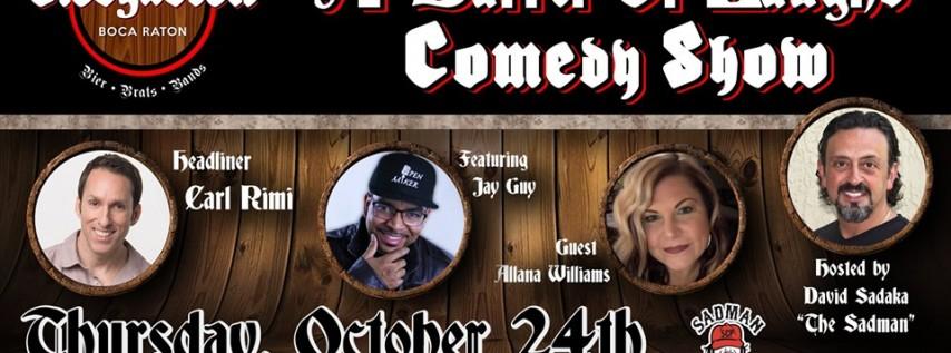 A barrel of laughs comedy show
