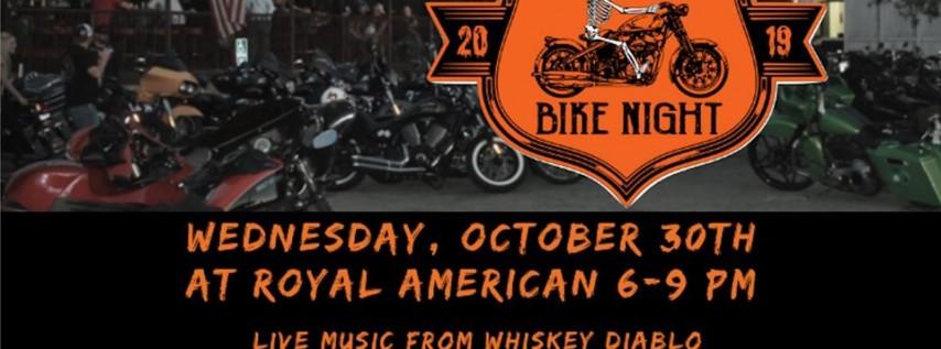 Rolling Bike Night at Royal American (Halloween Edition)