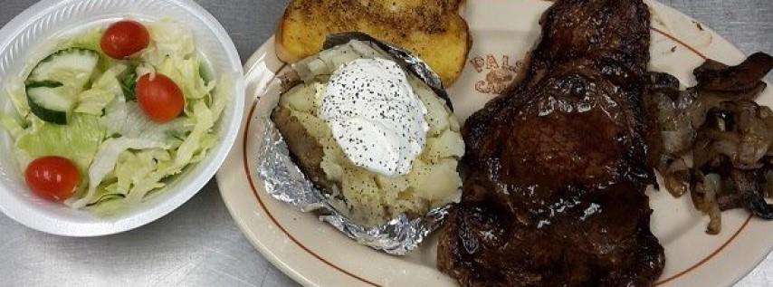 Steak and Fish Fry night