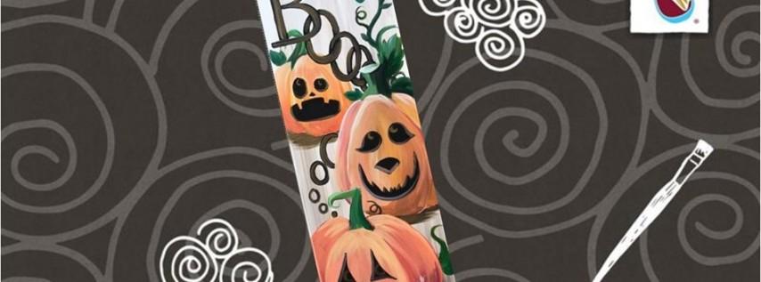 10x30 Canvas! Boo-tiful Pumpkins