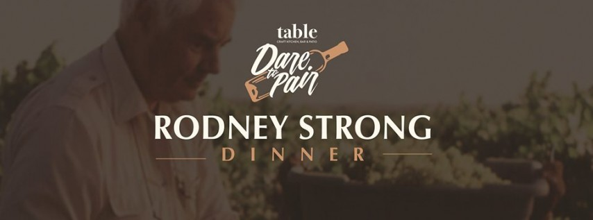 Rodney Strong Dare to Pair Wine Dinner