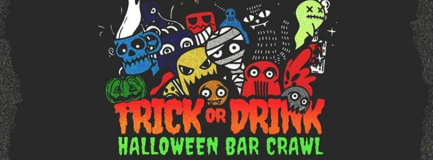 Trick or Drink: Philadelphia Halloween Bar Crawl (2 Days)