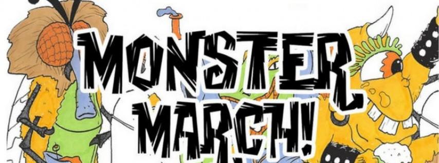 Monster March Philadelphia   Halloween Bar Crawl