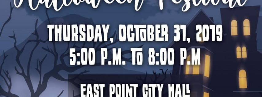 The City of East point 5th Annual Halloween Festival
