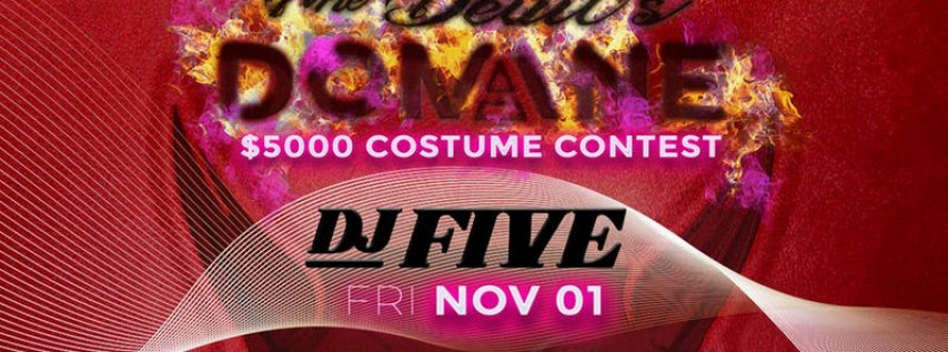 Domaine Halloween Friday 2019 with DJ Five