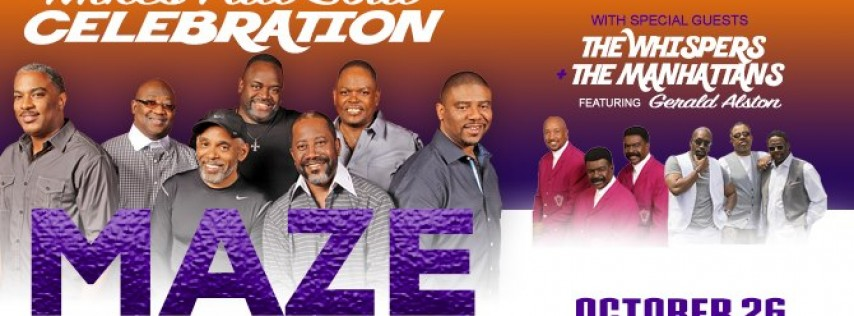 Maze featuring Frankie Beverly: Mike's Fall Soul Celebration