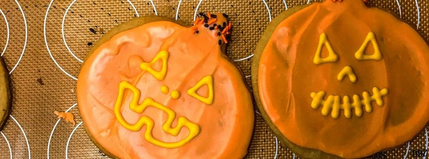 Spooky Halloween Cookie Decorating at Baked&Wired!