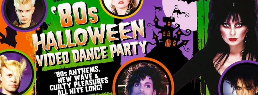 80s Halloween Video Dance Party