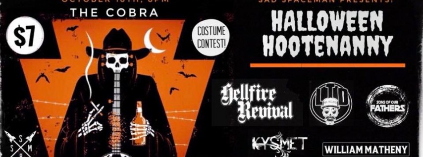 Halloween Hootenanny w/ Hellfire Revival, LTD, Soof, and more