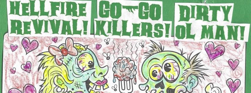 Halloween Hootenanny w Hellfire Revival/Go-Go Killers/DirtyOlMan
