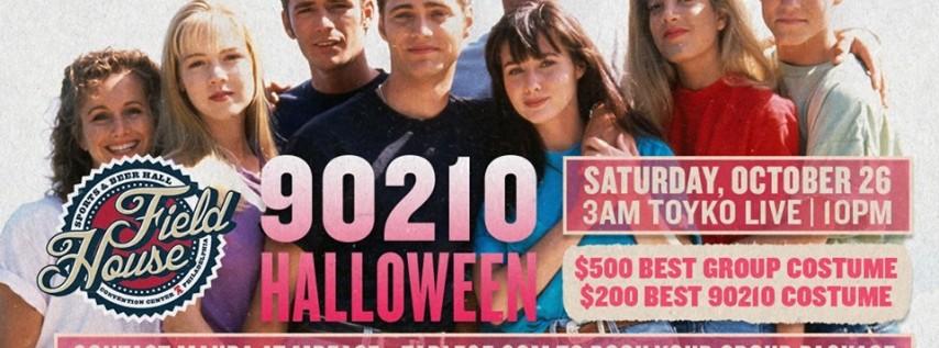 It's a 90210 Halloween