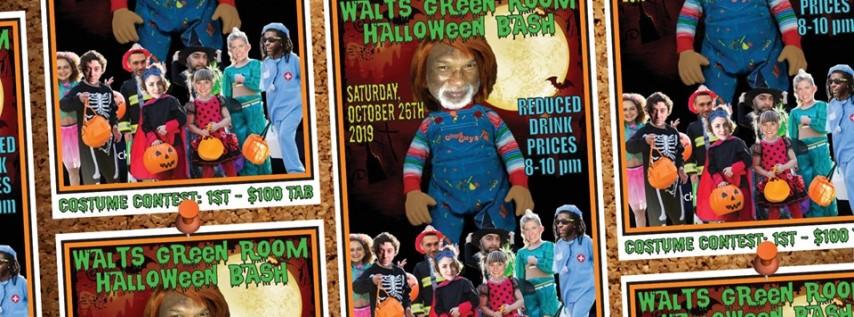 Walt's Green Room Halloween Bash