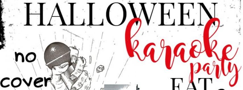 Halloween Karaoke Party, complete w/ Blood Bags