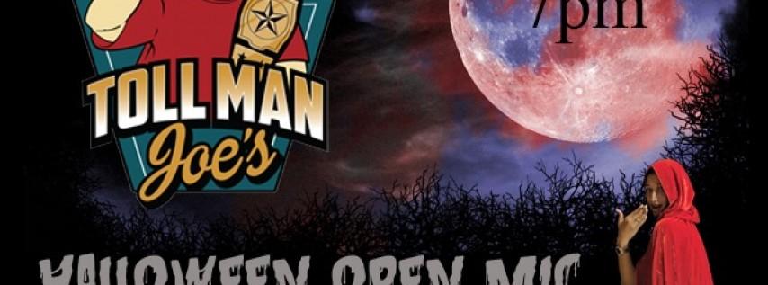 Halloween Open Mic at Toll Man Joe's