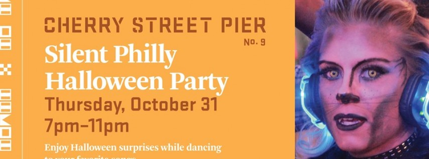 Silent Philly Halloween Party at the Cherry Street Pier