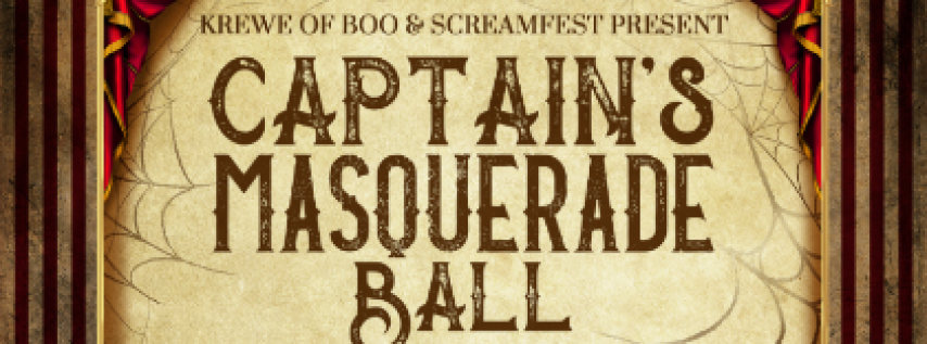 Krewe of Boo Captain's Masquerade Ball featuring GRaDU