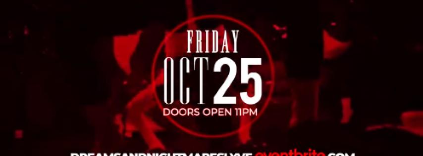 Dreams & Nightmares Halloween Costume Bash @ Lyve Niteclub - New Orleans