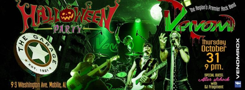 Halloween with Venom Special Guest After Schock & DJ Fragment