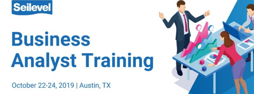 3-day Business Analysis Training - October 22-24, 2019