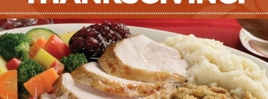 Planet Hollywood Thanksgiving Feast