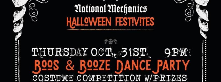 Boos & Booze Dance Party
