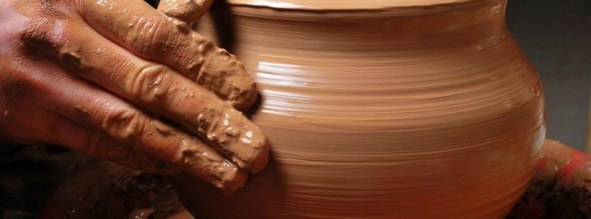 Pottery on the Wheel for Adults - Monday  Classes 6:30 pm - 9:00 pm