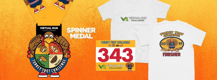 2019 - Turkey Trot Virtual Challenge - Tallahassee