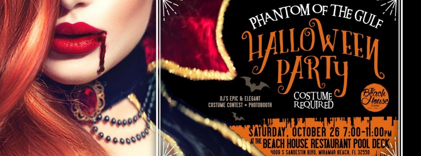 Phantom of the Gulf Halloween Party