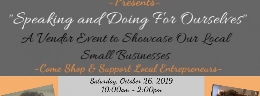 Doing It For Ourselves-A Popup Shop Event