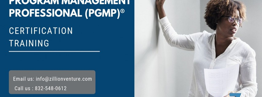 PgMP Certification Training in Pensacola, FL