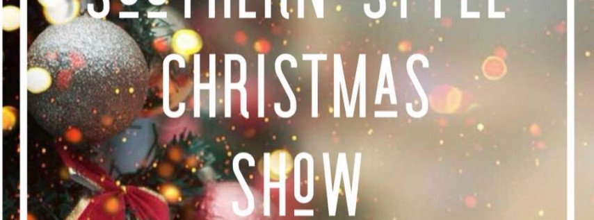 Southern style Christmas Show Hickory NC